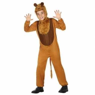 Dierenpak leeuw/leeuwen verkleed kostuum voor kinderen