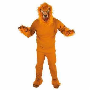 Leeuwen kostuums volwassenen