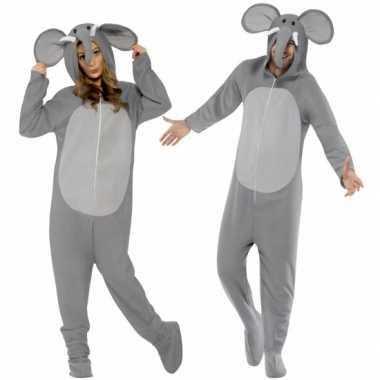Olifantjes Onesie voor volwassenen