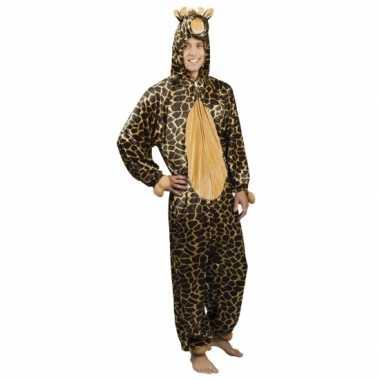 Verkleedpak giraffe voor heren