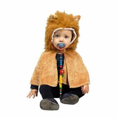Verkleedpak leeuw voor babies