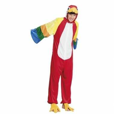 Verkleedpak papegaai voor kinderen