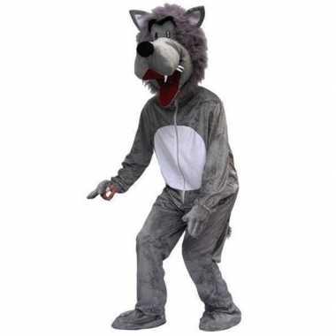 Wolf kostuum voor volwassenen